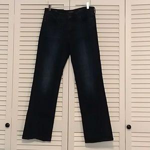 Lucky Brand Easy Rider Dark Wash Jean's High rise